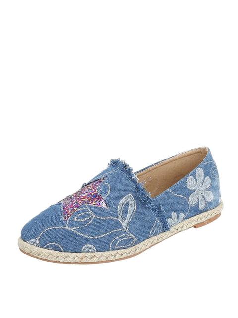 Эспадрильи синие Shoes 4226963