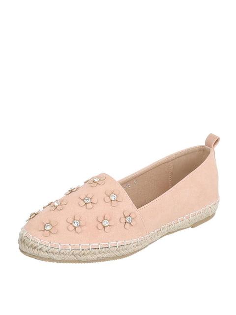 Эспадрильи розовые Shoes 4226996