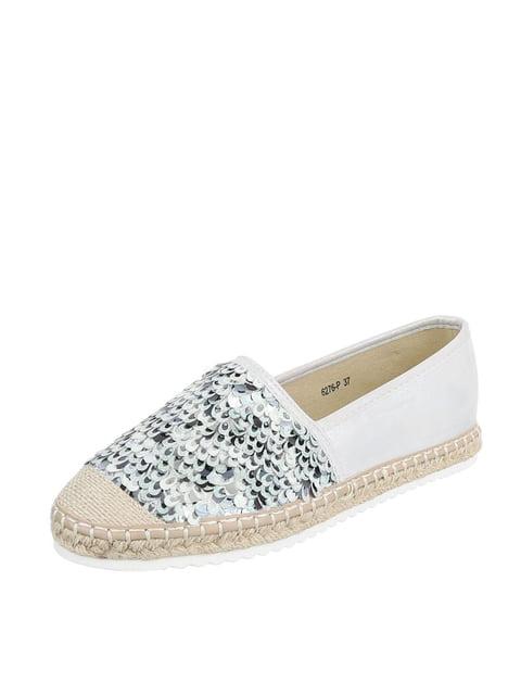 Еспадрильї сріблясті Shoes 4227043