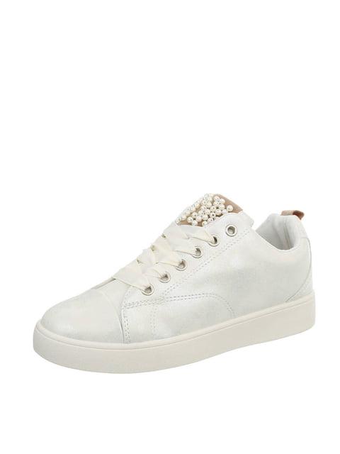 Кроссовки серебристые Shoes 4227421