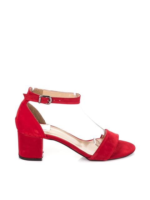Босоніжки червоні Fox 4230200