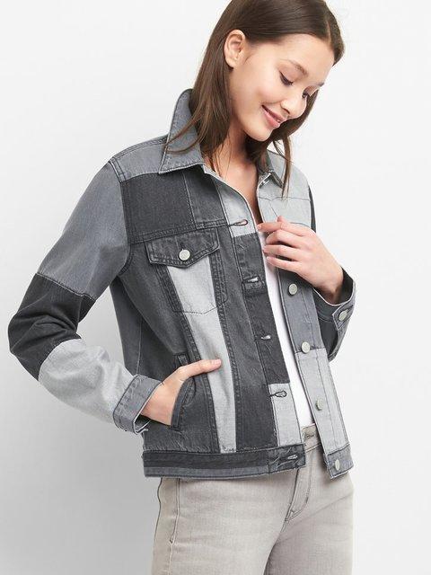 Куртка сіра джинсова GAP 4216144
