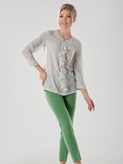 Блуза сіра Lesya 4068328