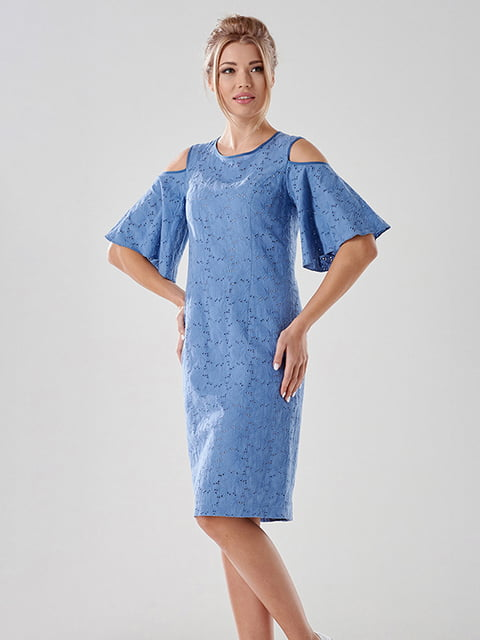 Сукня блакитна Lesya 4068397