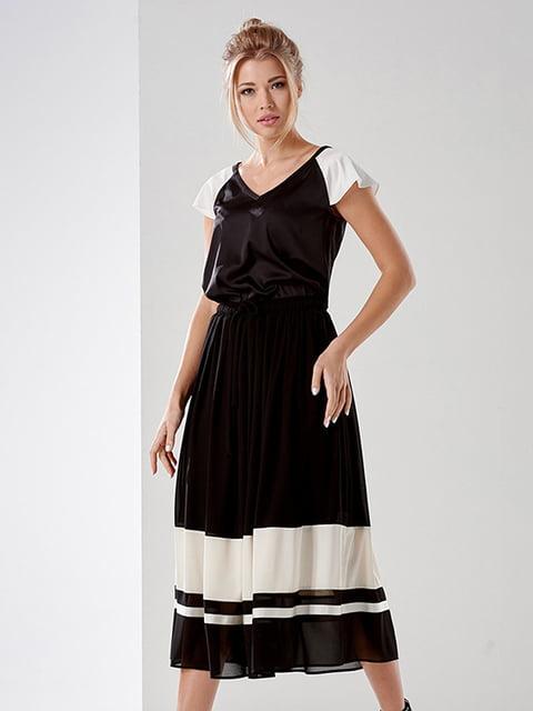 Блуза чорна Lesya 4177906
