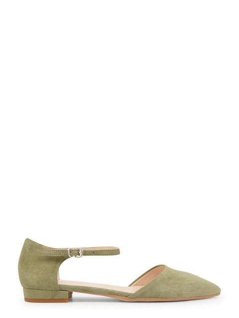 Туфлі кольору хакі Made in Italia 4228903