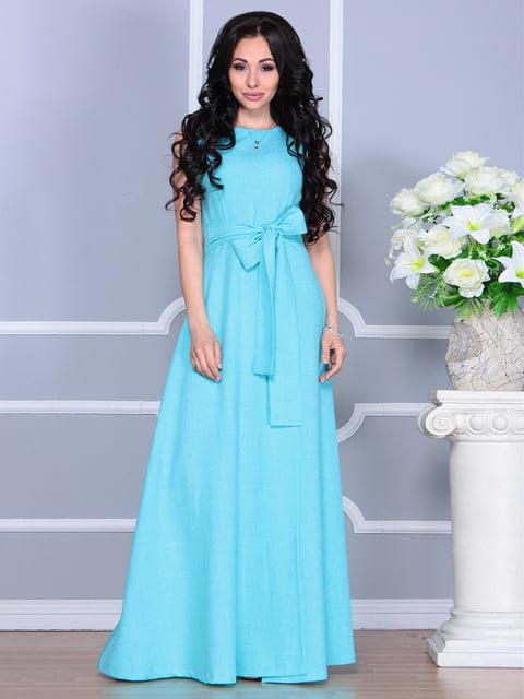 Платье светло-бирюзовое Laura Bettini 4238430