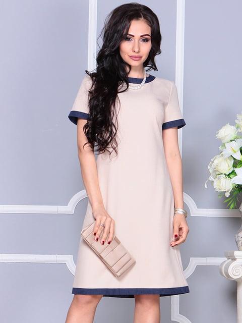 Платье бежевое Laura Bettini 4238458