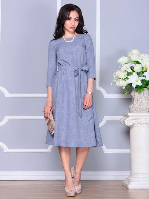 Платье цвета фиолетовой дымки Laura Bettini 4238461
