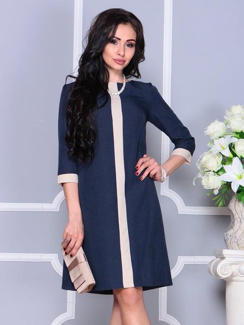 Сукня темно-синя Laura Bettini 4238462