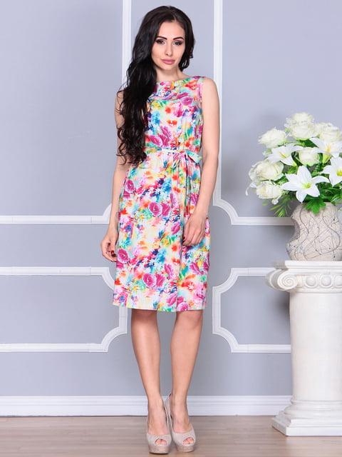 Сукня в квітковий принт Laura Bettini 4238465