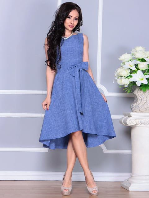 Сукня кольору джинсу Maurini 4238497
