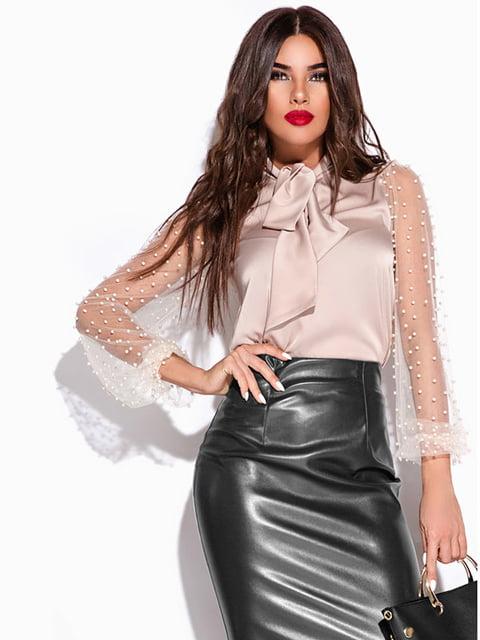 Блуза бежевая Gepur 4161815
