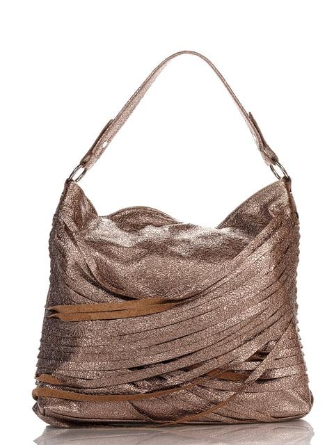 Сумка бронзового кольору Italian Bags 4241707