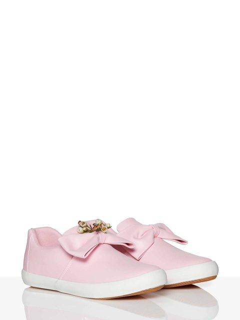 Туфли розовые Benetton 3986676
