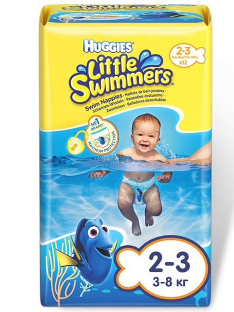 Трусики для плавання Little Swimmers 2-3 (12 шт.) HUGGIES 4246085