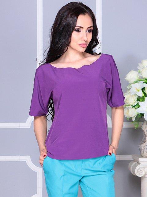 Блуза фіолетова Laura Bettini 4246233