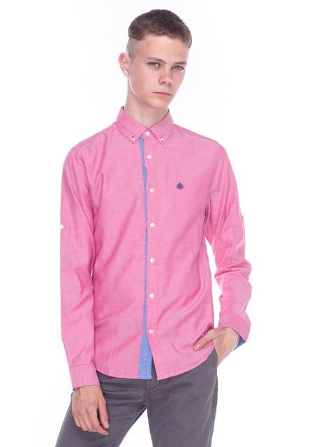 Рубашка розовая Springfield 3966772