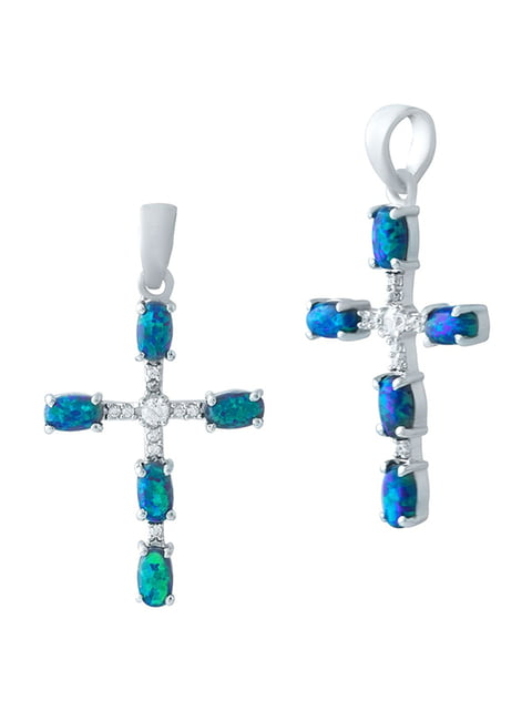 Хрестик SILVER BLUE 4248921