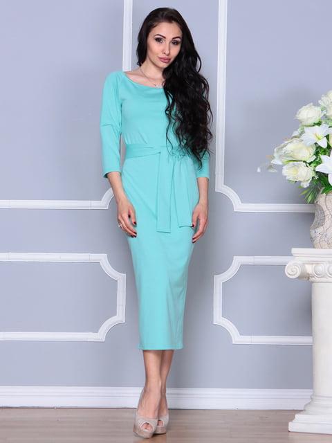 Платье ментолового цвета Laura Bettini 4249508