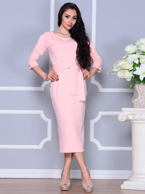Платье персикового цвета Laura Bettini 4249510