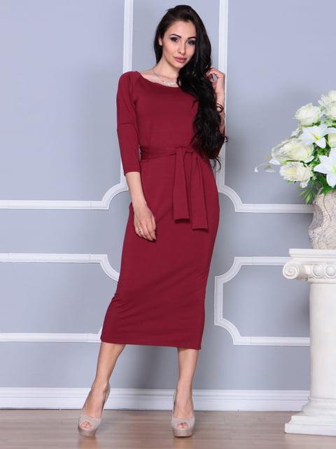 Платье винного цвета Laura Bettini 4249511