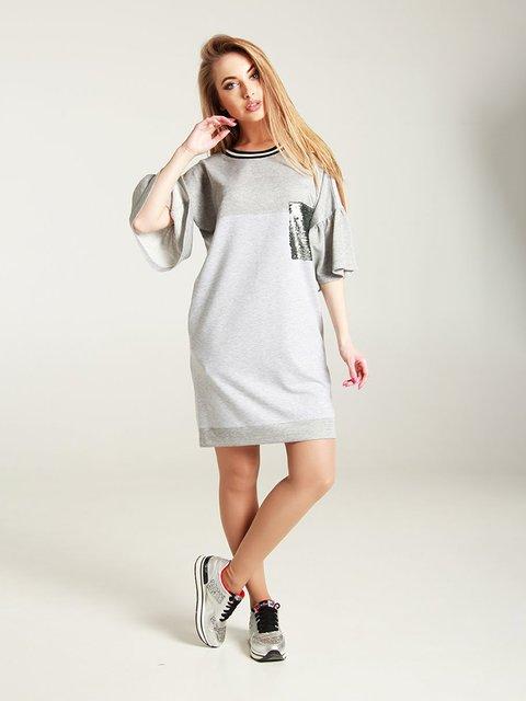 Сукня світло-сіра MOONLIGHT 4250804