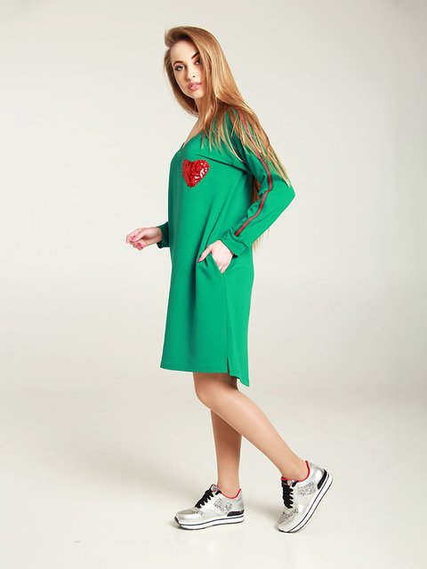 Сукня зелена MOONLIGHT 4250845