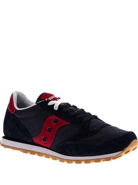 Кросівки синьо-червоні Jazz Lowpro SAUCONY 4249458