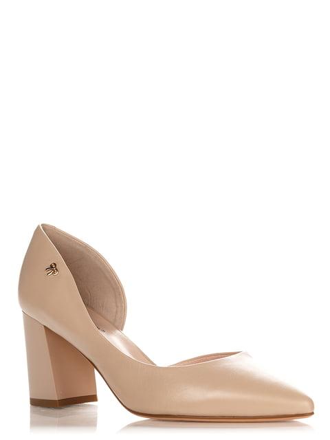 Туфли бежевые Blizzarini 4252902