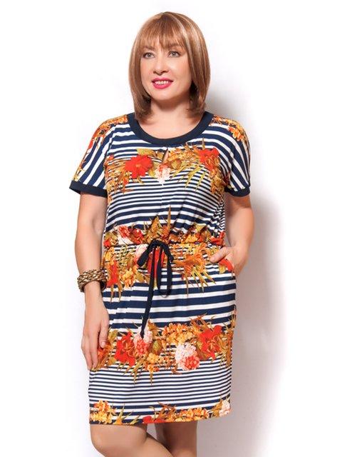 Платье синее LibeAmore 4261708