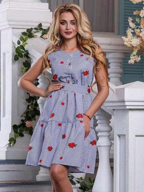 Сукня синя в смужку Seventeen 4262991