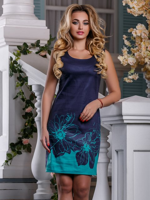 Сукня темно-синя Seventeen 4263025