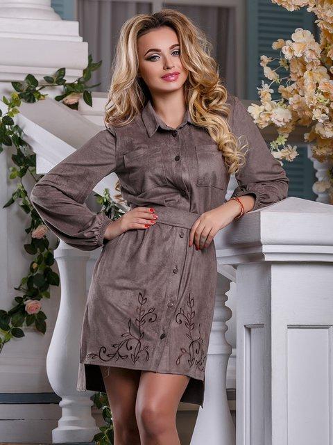 Платье серое Seventeen 4263031