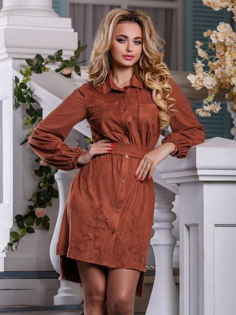 Сукня коричнева Seventeen 4263032