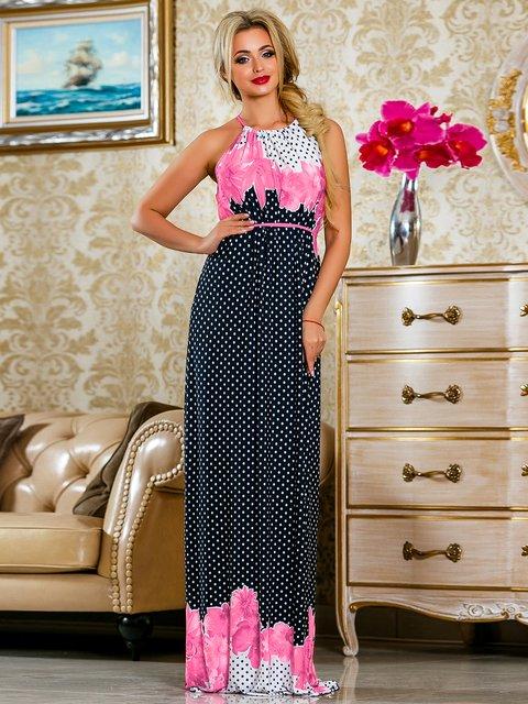 Сукня рожева у квітковий принт Seventeen 4263055