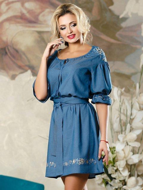 Платье синее Seventeen 4263073