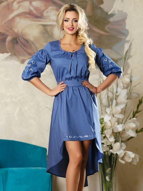 Платье синее Seventeen 4263074