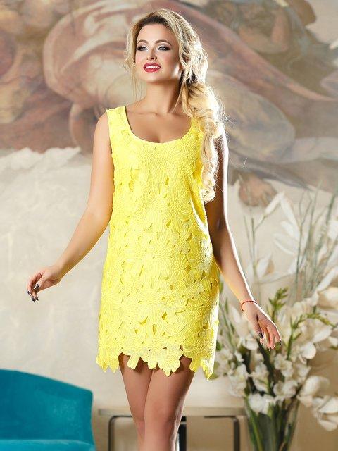 Сукня жовта Seventeen 4263089