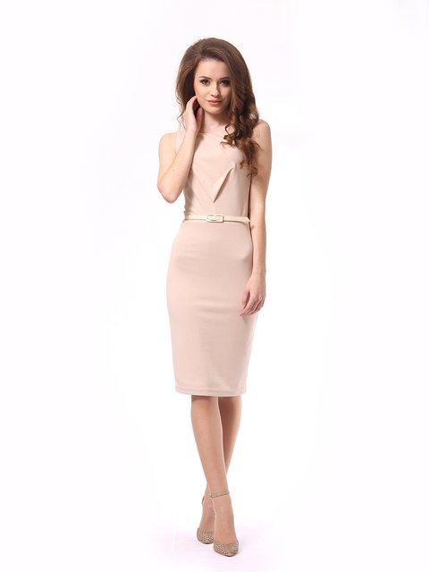 Платье бежевое Lada Lucci 4249877