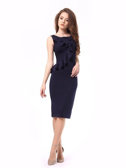 Платье темно-синее Lada Lucci 4249907