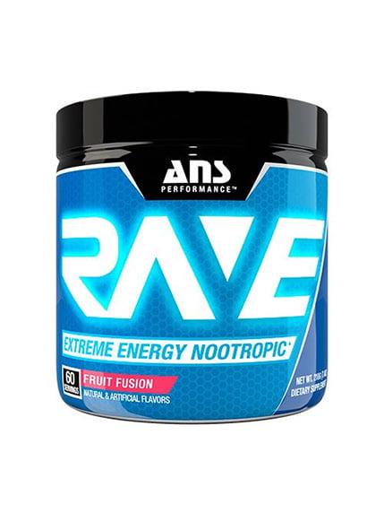 Rave Extreme Energy Nootropic фруктова суміш (210 г) ANS Performance 4263897