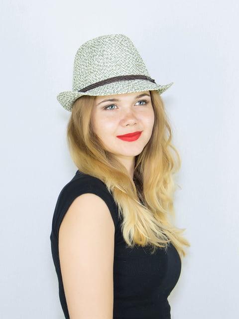Шляпа зеленая Fashion Look 4265560