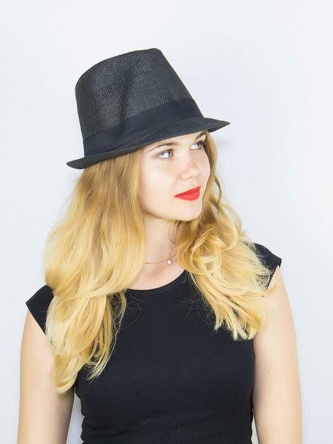 Шляпа черная Fashion Look 4265593