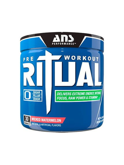 Передтренирувальний комплекс Ritual Pre-Workout злий кавун (240 г) ANS Performance 4263916