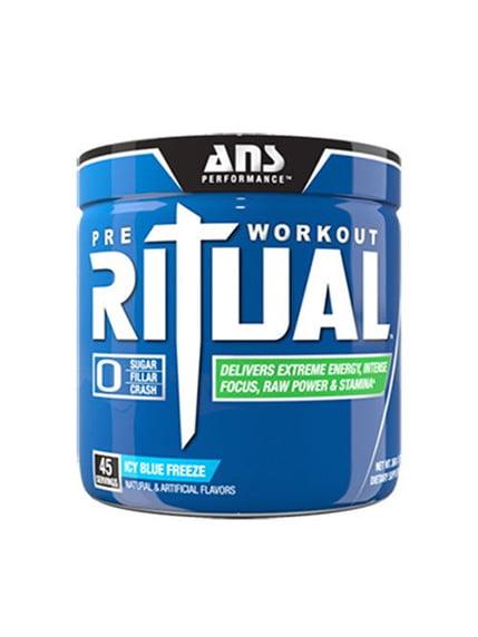 Передтренирувальний комплекс Ritual Pre-Workout льодово-блакитний холод (240 г) ANS Performance 4263917