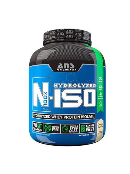 Ізолят сироваткового протеїну N-ISO вершкова ваніль (2,27 кг) ANS Performance 4263904
