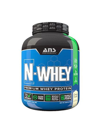 Сироватковий білок N-WHEY вершкова ваніль (2,27 кг) ANS Performance 4263927
