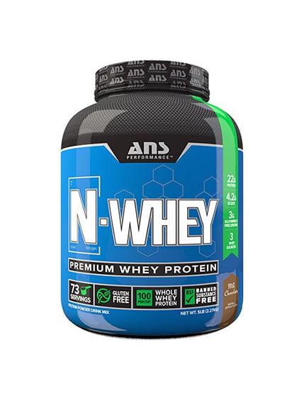 Сироватковий протеїн N-WHEY молочний шоколад (2,27 кг) ANS Performance 4263928
