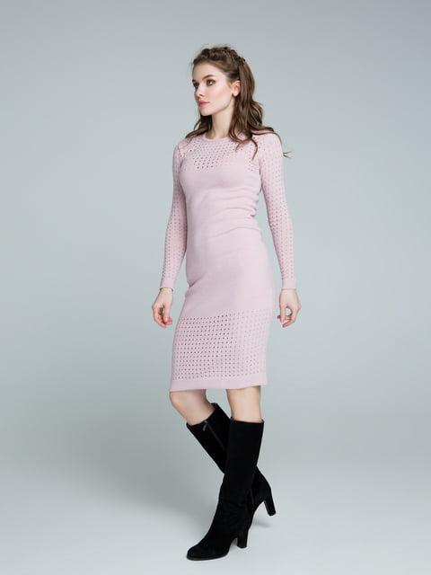 Сукня кольору пудри Sewel 4263703